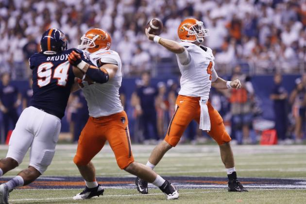 Big 12 Football: Oklahoma State Moves Up, Texas Drops Out of Latest Polls
