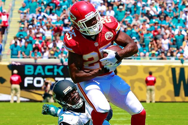 Jamaal Charles Injury: Updates on Chiefs RB's Quad