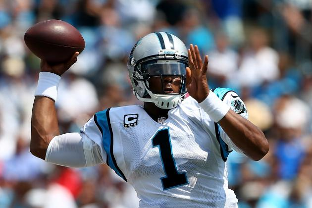 Analyzing Cam Newton in Week 1: Carolina Panthers vs. Seattle Seahawks