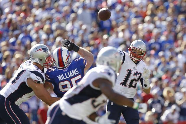Patriots, Brady Pushed Hard, but Beat Bills in Opener
