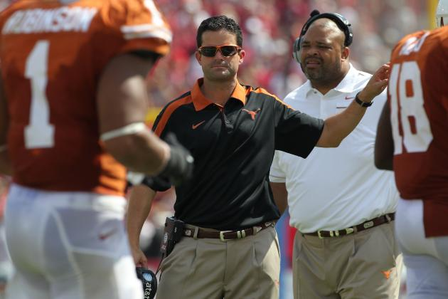 Texas Longhorns Head Coach Mack Brown Fires Defensive Coordinator Manny Diaz