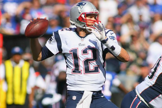 Brady Reaches 45K Career-Passing Yards