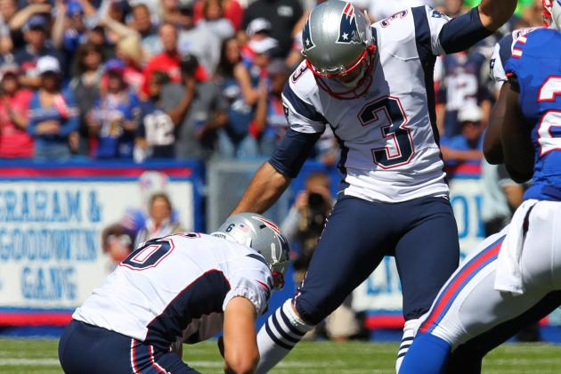 Gostkowski: 'It Wasn't the Smoothest Operation