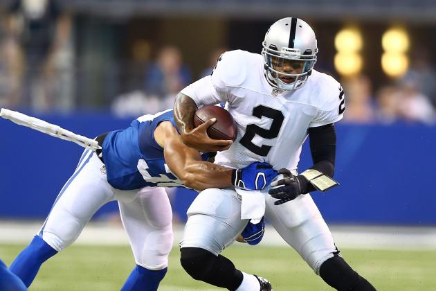 Raiders Terrelle Pryor Cries After Losing to Colts