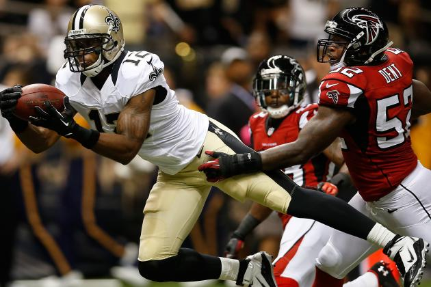 New Orleans Saints' Marques Colston Sets Franchise Record for Receptions