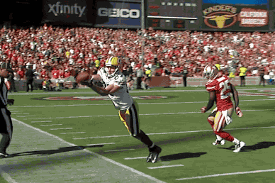 Packers WR Jordy Nelson Makes Great Sideline Catch Against 49ers