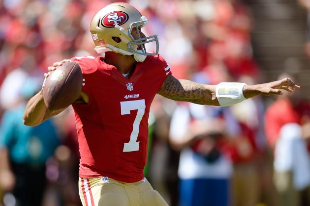 Projecting Colin Kaepernick's 2013 Fantasy Value After Explosion vs. Packers