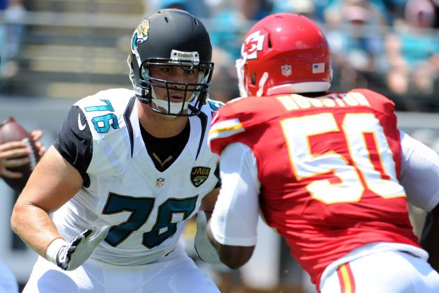 Joeckel Struggles in Debut for Jacksonville