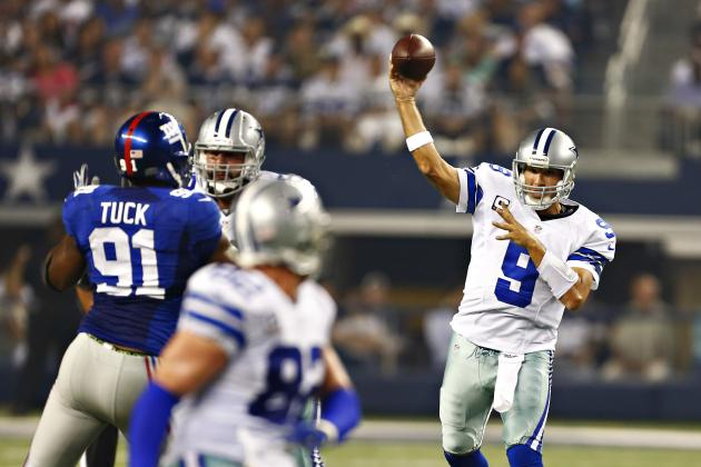 New York Giants vs. Dallas Cowboys: Live Score, Highlights and Analysis