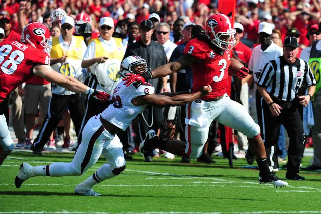 What Clemson Can Learn from Georgia's Win over South Carolina