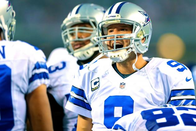 Cowboys and Giants Play Ugliest Game of Day as New York Commits 6 Turnovers