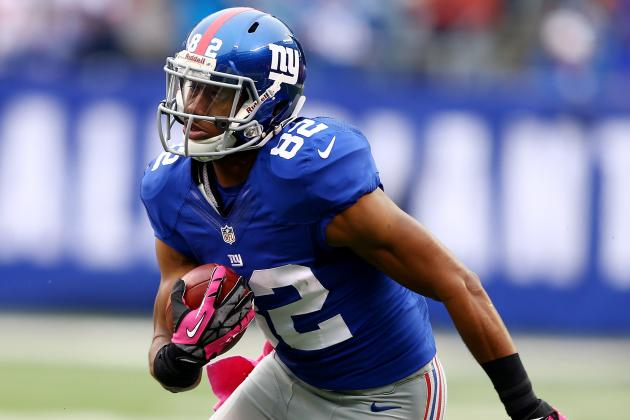 Rueben Randle's Fantasy Value Increases Due to Shaky RB Situation for Giants