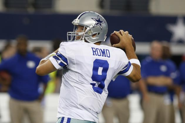 Jones Calls Injured Romo, 'One Tough Man'