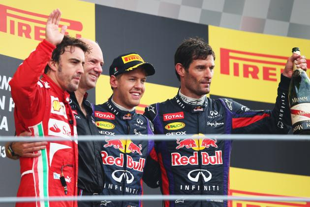Italian Grand Prix 2013: Results and 2 Major Talking Points from Monza