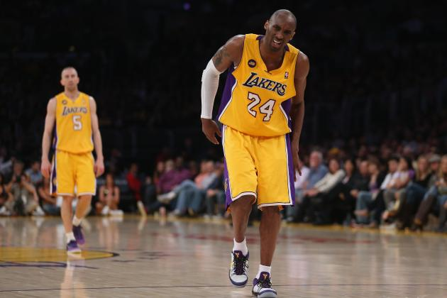 Latest Injury Updates, Return Timetables for Kobe Bryant and LA Lakers