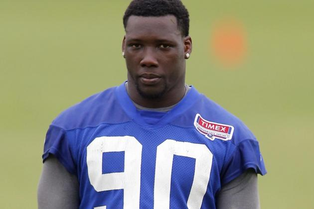 Jason Pierre-Paul Struggles a Bit but Is Happy He Played