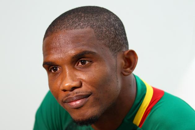 Samuel Eto'o Quit Talk Is Music to the Ears of Chelsea Boss Jose Mourinho
