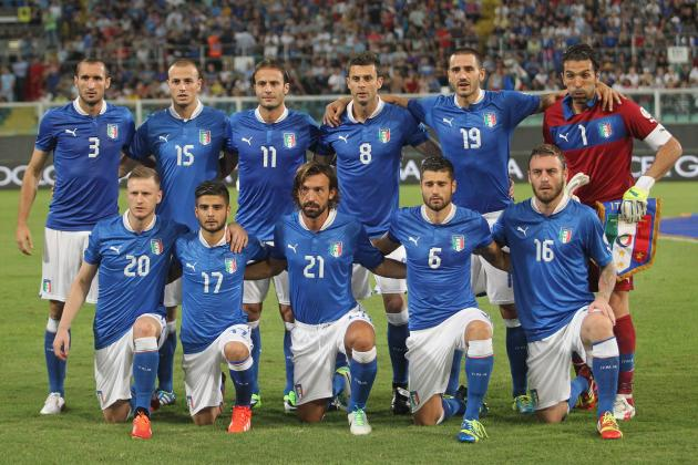 Why Italy Are Primed to Win the 2014 World Cup in Brazil