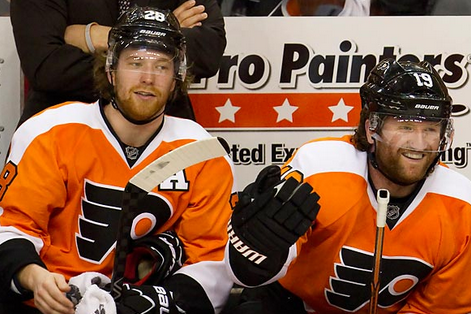 Claude Giroux, Scott Hartnell Expect Flyers to Bounce Back in '13-14 Season