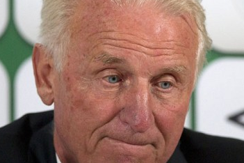 Trapattoni Admits That His Time as Manager of Ireland Is Almost over
