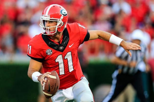 Georgia QB Aaron Murray Highlights Week 2's SEC Players of the Week