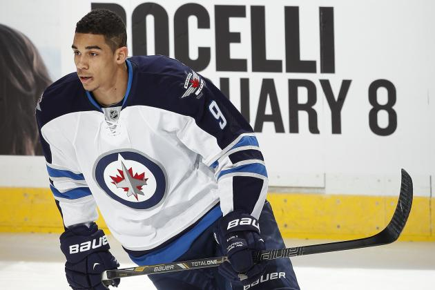 Evander Kane Has 'Come Leaps and Bounds' for Jets Coach