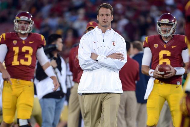 Lane Kiffin Might Have Trouble Picking a USC QB, but We Don't