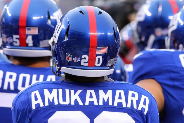Giants' Injury News: Prince Amukamara Uncertain vs. Denver Broncos