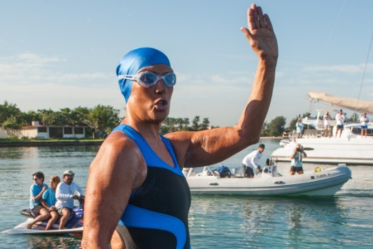 Diana Nyad's Historic Swim from Cuba to Florida Draws Skepticism from Swimmers