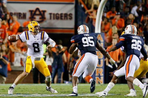 LSU-Auburn Kickoff Set for 6:45 P.m. in Tiger Stadium
