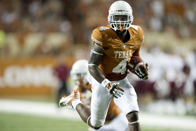 Texas WR Johnson to Miss Ole Miss Game