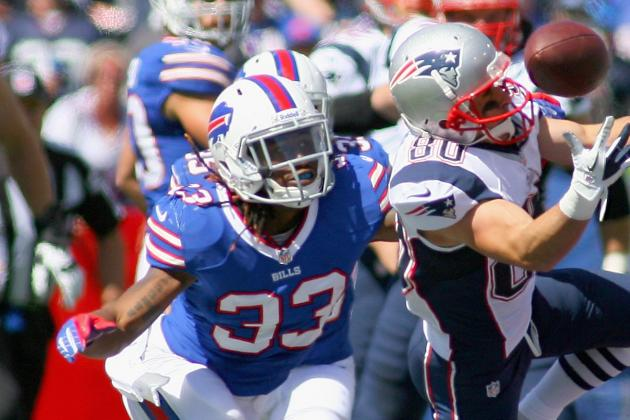 Bills CB Brooks Spotted on Crutches Monday