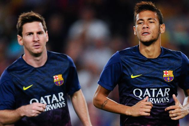 Neymar Praises 'idol' Lionel Messi