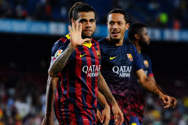 Barca Question Dani Alves' Future