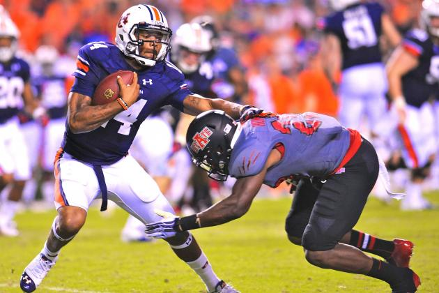 Auburn QB Nick Marshall's Week-by-Week Improvement an Encouraging Sign