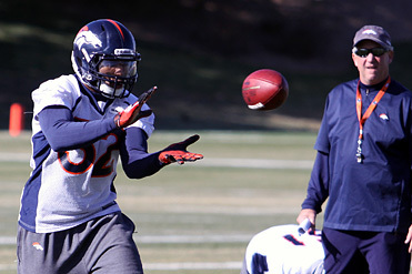 Woodyard, Bailey Not at Broncos Practice