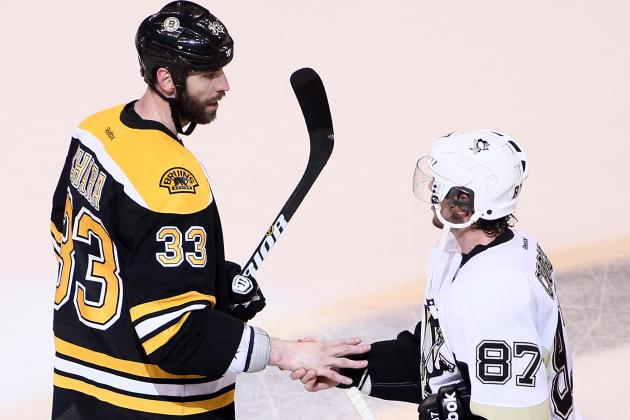 Sidney Crosby Thinks Zdeno Chara's Punch 'Crossed the Line'