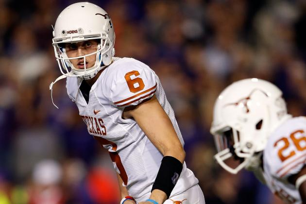 Case McCoy Should Not Start Against Ole Miss If David Ash Can't Go