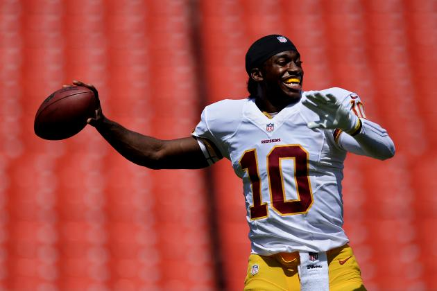 Chronicling Robert Griffin III's Return from Surgery Before Eagles vs. Redskins