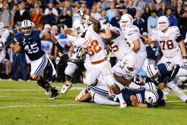 Is Texas Still Big 12 Title Contender After Week 2 Flop vs. BYU?
