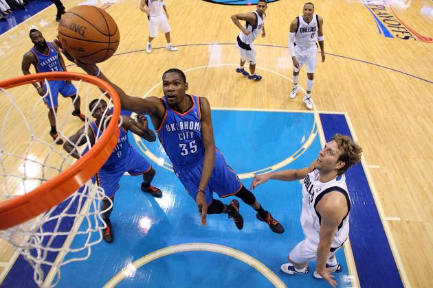 Durant Should Learn Post Moves from Dirk Nowitzki, Not Hakeem Olajuwon