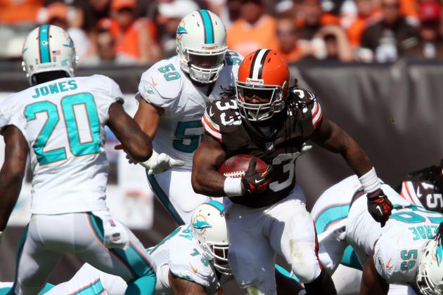 Loss to Dolphins Proves the Browns Offense Must Run Through Trent Richardson