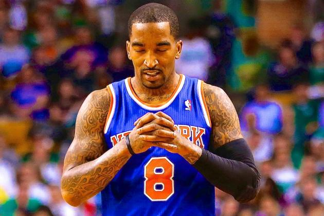 How Much Longer Will J.R. Smith Get to Prove Himself Before NY Knicks Dump Him?