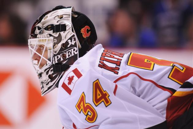 Is Kiprusoff the Best Goalie in Flames History?