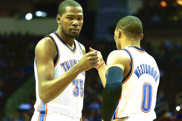 Kevin Durant Expects Russell Westbrook to Be Ready for OKC Thunder Season Opener