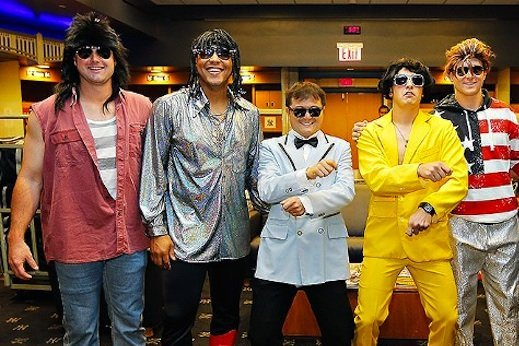 Yankees' Rookie Hazing Leads to Hilarious Pop Star Costumes