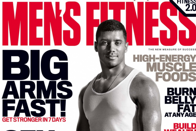 Seattle Seahawks QB Russell Wilson Graces 'Men's Fitness' Cover