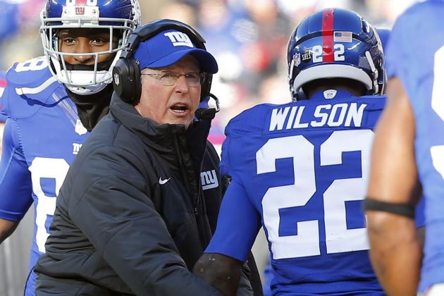 "Tom Coughlin ""not Going to Get Into"" Whether David Wilson Starts Week Two"