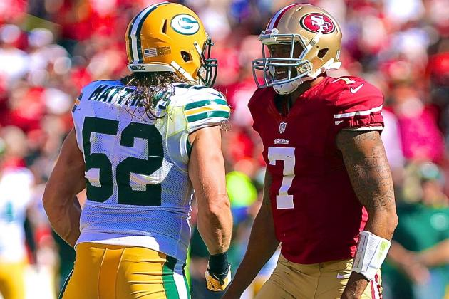 Is Clay Matthews a Dirty Player after Late Hit and Fight with 49ers?