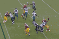 Washington Redskins Take Controversial Fumble Recovery Back 75 Yards